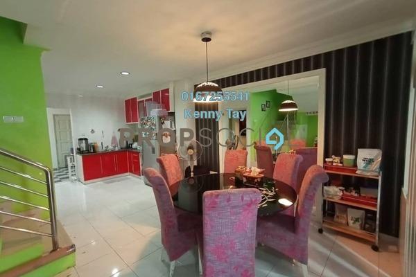 For Sale Terrace at Taman Wangsa Permai, Kepong Freehold Semi Furnished 4R/4B 750k
