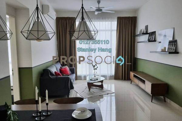 For Rent Condominium at The Park Sky Residence @ Bukit Jalil City, Bukit Jalil Freehold Fully Furnished 2R/2B 2.4k