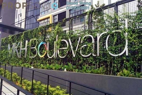 For Rent Serviced Residence at MKH Boulevard, Kajang Freehold Semi Furnished 3R/2B 1.7k