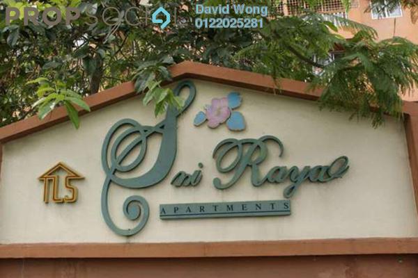 For Rent Apartment at Sri Raya Apartment, Kajang Freehold Unfurnished 3R/2B 950translationmissing:en.pricing.unit