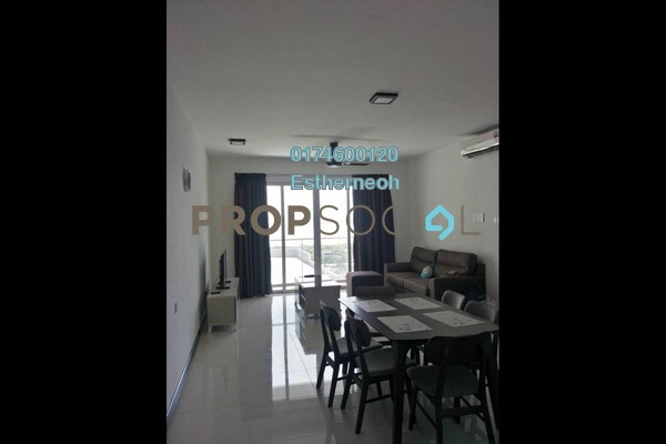 For Rent Condominium at Vertiq, Gelugor Freehold Fully Furnished 3R/2B 2.3k