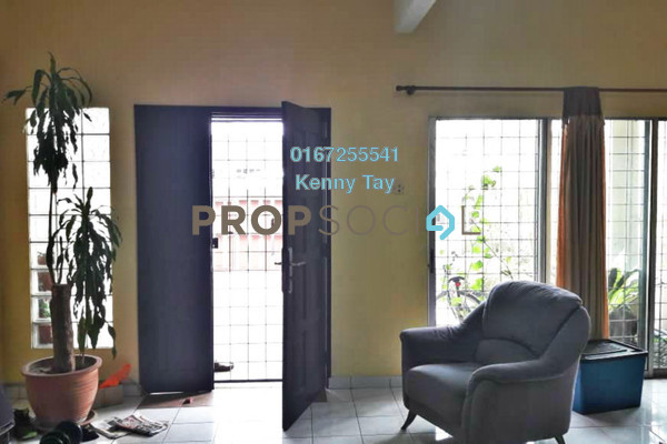 For Sale Terrace at Taman Wangsa Permai, Kepong Freehold Semi Furnished 4R/3B 660k