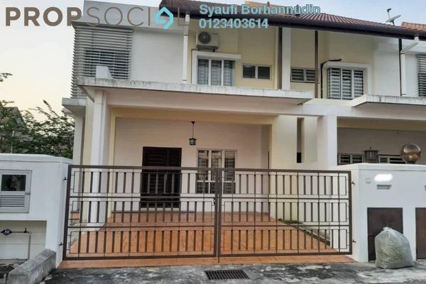 Terrace For Sale in Puncak Bestari, Puncak Alam Freehold unfurnished 4R/4B 670k