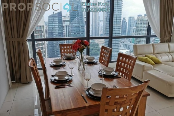 For Rent Serviced Residence at Aria, KLCC Freehold Fully Furnished 2R/2B 8k