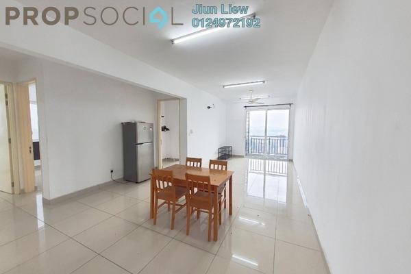 For Rent Condominium at De Centrum Residences, Kajang Freehold Semi Furnished 3R/2B 1.5k