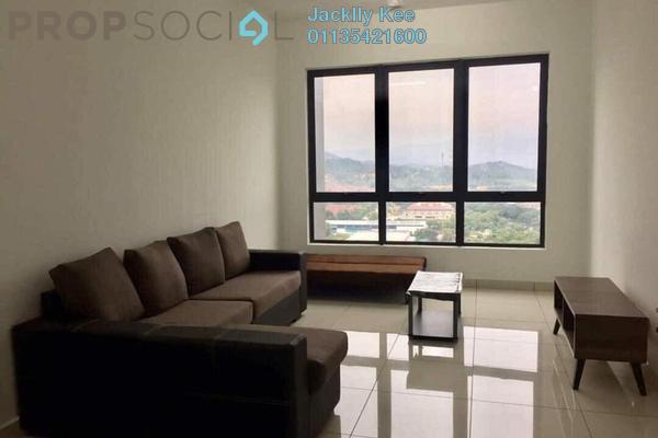 For Rent Condominium at Kiara Plaza, Semenyih Freehold Fully Furnished 3R/2B 1.1k