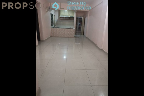 For Rent Condominium at Nilam Puri, Bandar Bukit Puchong Freehold Semi Furnished 3R/2B 1k