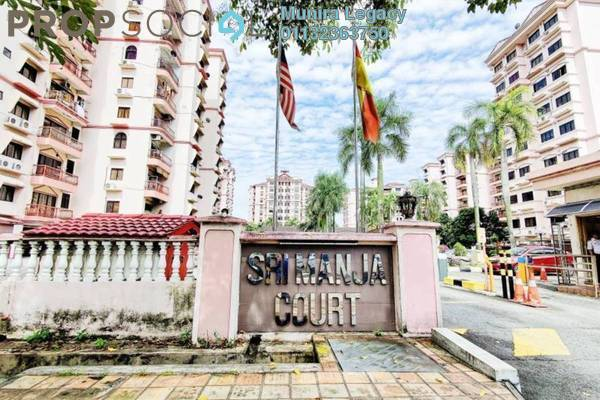 Condominium For Sale in Sri Manja Court, PJ South Freehold Unfurnished 3R/2B 438k