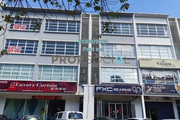 For Sale Shop at Bandar Puchong Jaya, Puchong Freehold Semi Furnished 6R/8B 3.15m