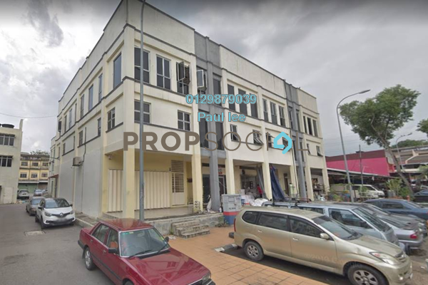 For Sale Shop at Taman Tan Yew Lai, Old Klang Road Freehold Semi Furnished 2R/6B 1.4m