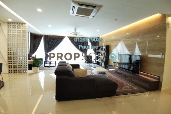 For Sale Condominium at Uptown Residences, Damansara Utama Freehold Semi Furnished 5R/6B 2.3m