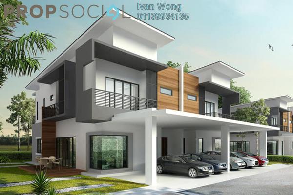 For Sale Terrace at Bandar Springhill, Sendayan Freehold Unfurnished 4R/3B 350k