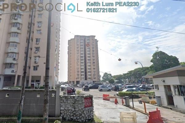 Condominium For Sale in Desa Dua, Kepong Freehold Semi Furnished 3R/2B 250k