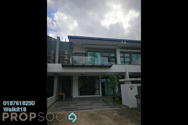 For Sale Terrace at Estuari Gardens @ Estuari, Puteri Harbour Freehold Fully Furnished 5R/5B 1.1m