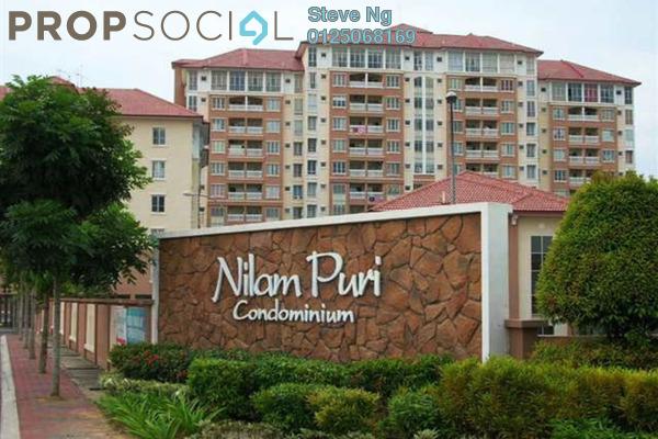 For Sale Condominium at Nilam Puri, Bandar Bukit Puchong Freehold Unfurnished 3R/2B 275k