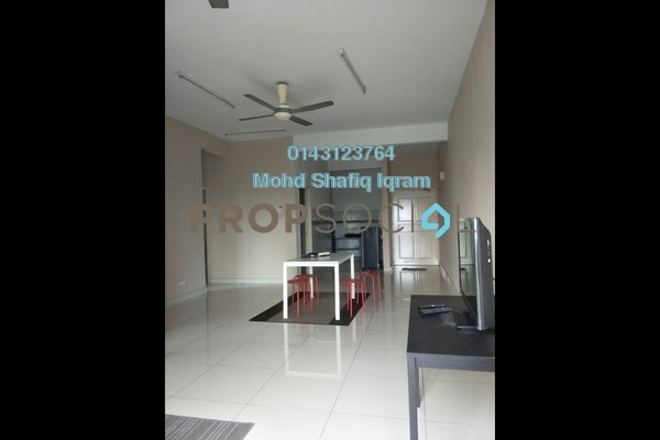 For Rent Condominium at Kristal View, Shah Alam Freehold Semi Furnished 4R/2B 1.6k