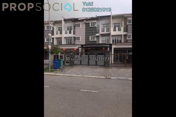 For Sale Terrace at Taman Subang Idaman, Subang Freehold Semi Furnished 5R/5B 1.05m