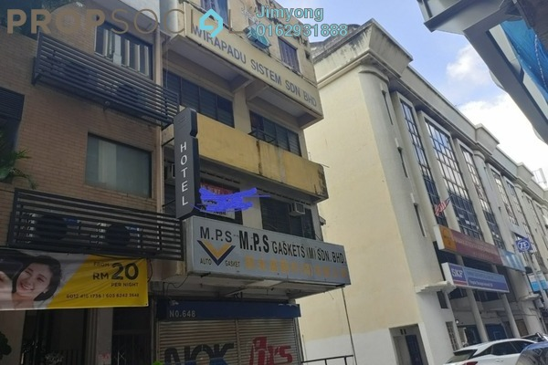 Office For Rent in Taman Rainbow, Jalan Ipoh Freehold Unfurnished 1R/1B 1.1k