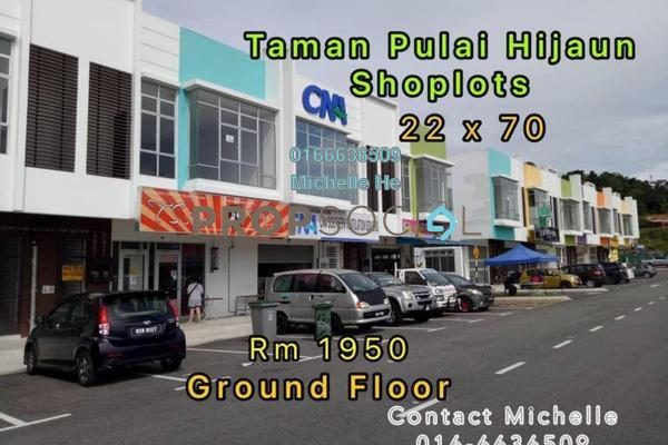 For Rent Shop at Taman Pulai Hijauan, Skudai Freehold Unfurnished 0R/0B 1.95k