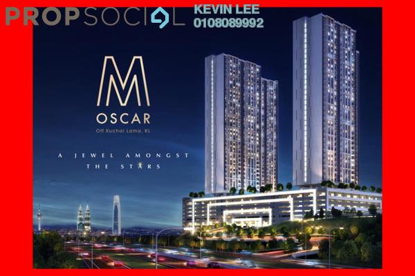 For Sale Serviced Residence at M Oscar, Sri Petaling Freehold Unfurnished 2R/2B 450k