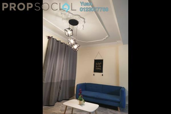 For Rent Condominium at Pelangi Indah, Jalan Ipoh Freehold Fully Furnished 3R/2B 1.4k