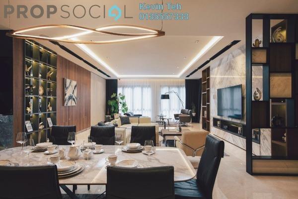 For Sale Condominium at Anjali @ North Kiara, Segambut Freehold Semi Furnished 3R/4B 1.8m
