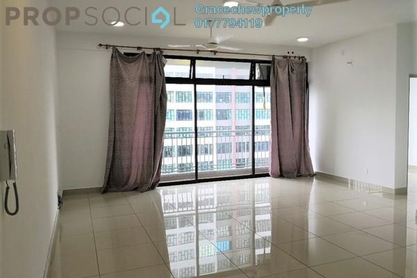 Apartment For Rent in Austin Regency, Tebrau Freehold Semi Furnished 3R/2B 1k