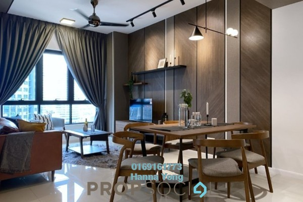 For Rent Serviced Residence at Novum, Bangsar South Freehold Fully Furnished 3R/2B 4k