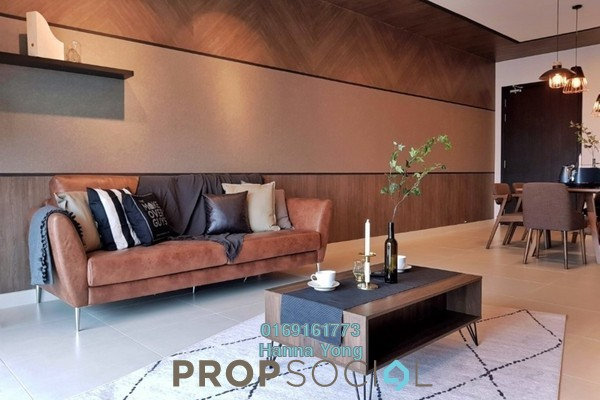 For Rent Condominium at Residensi Sefina, Mont Kiara Freehold Fully Furnished 3R/2B 4.8k