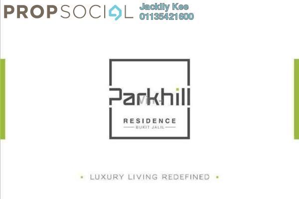 For Rent Condominium at Parkhill Residence, Bukit Jalil Freehold Semi Furnished 3R/2B 1.7k