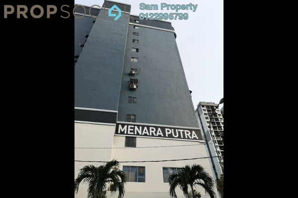 For Rent Apartment at Menara Putra, Putra Freehold Semi Furnished 0R/1B 850translationmissing:en.pricing.unit
