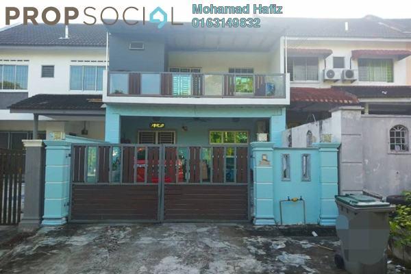 Terrace For Sale in Taman Puteri Wangsa, Ulu Tiram Freehold Semi Furnished 4R/3B 455k