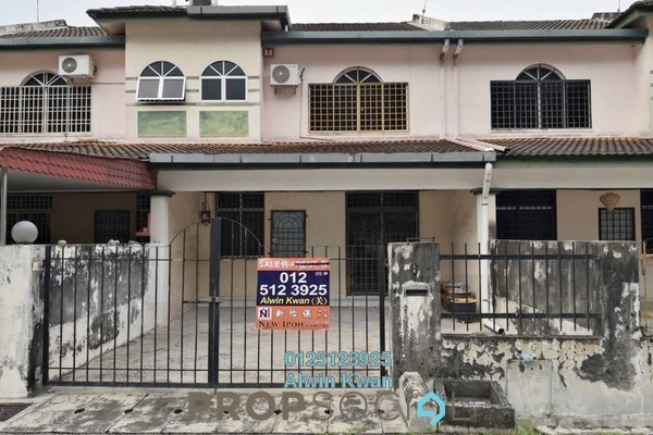 For Sale Terrace at Taman Panorama, Ipoh Freehold Semi Furnished 4R/3B 268k