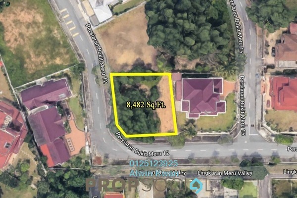 For Sale Land at Meru Heights, Ipoh Leasehold Unfurnished 0R/0B 467k