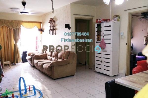 For Sale Apartment at Flora Damansara, Damansara Perdana Freehold Semi Furnished 3R/2B 256k