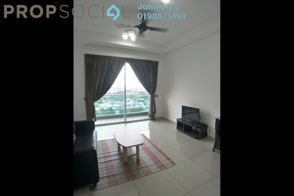 Apartment For Rent in D'Carlton Seaview Residences, Masai Freehold Fully Furnished 2R/2B 1.3k