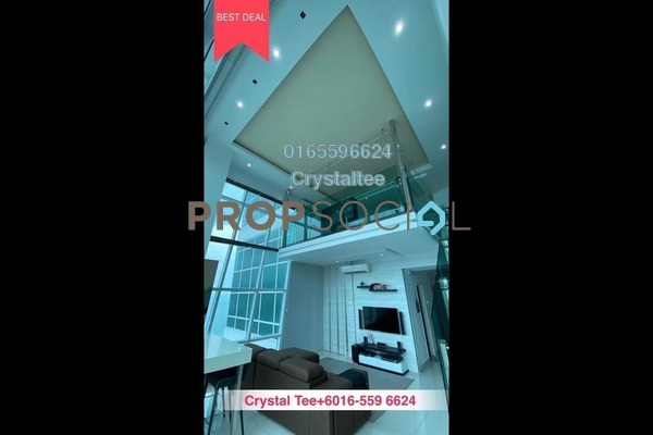For Sale Condominium at The Maritime, Jelutong Freehold Semi Furnished 2R/2B 1.1m