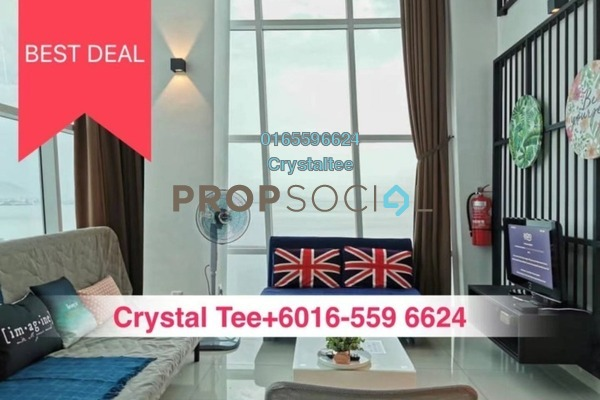 For Sale Condominium at The Maritime, Jelutong Freehold Fully Furnished 2R/2B 980k