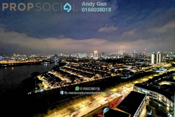 Serviced Residence For Rent in EcoSky Residence, Kuala Lumpur Freehold Fully Furnished 3R/2B 2.49k