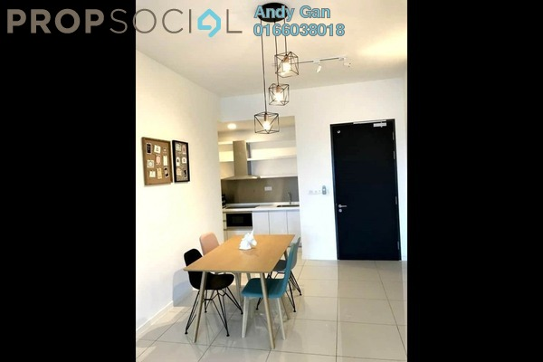 Serviced Residence For Rent in EcoSky Residence, Kuala Lumpur Freehold Fully Furnished 2R/2B 2k