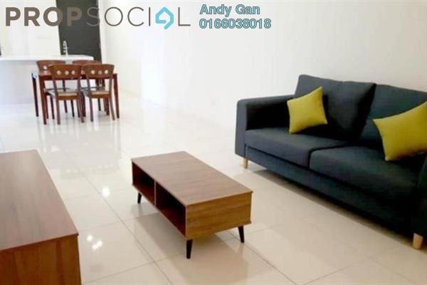 Serviced Residence For Rent in EcoSky Residence, Kuala Lumpur Freehold Fully Furnished 3R/2B 2.25k