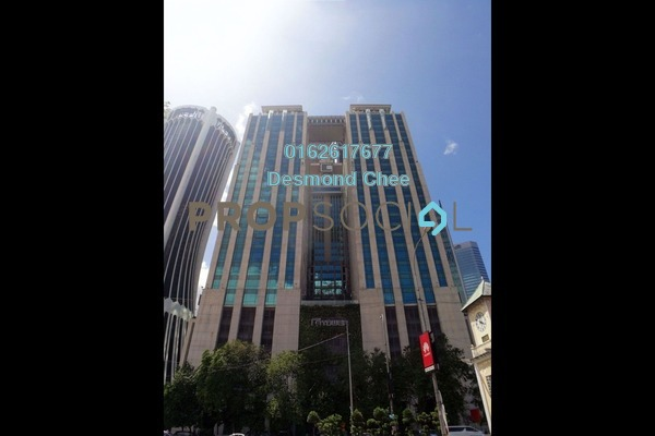 For Rent Office at GTower, KLCC Freehold Semi Furnished 0R/0B 12.7k