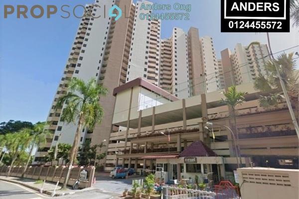 Condominium For Rent in E-Park, Batu Uban Freehold Fully Furnished 3R/2B 1.35k