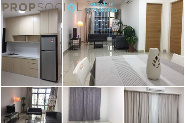 For Rent Serviced Residence at Pearl Suria, Old Klang Road Freehold Fully Furnished 3R/2B 2.8k