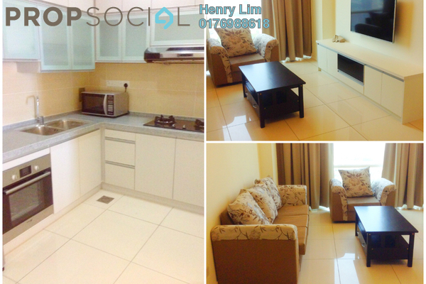 For Rent Condominium at Suasana Bangsar, Bangsar Freehold Fully Furnished 2R/2B 3.2k