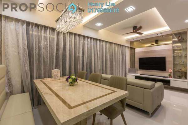 For Rent Serviced Residence at Dua Residency, KLCC Freehold Fully Furnished 5R/4B 6k