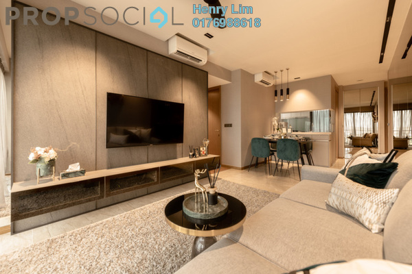 For Rent Condominium at St Mary Residences, KLCC Freehold Fully Furnished 1R/2B 3.5k