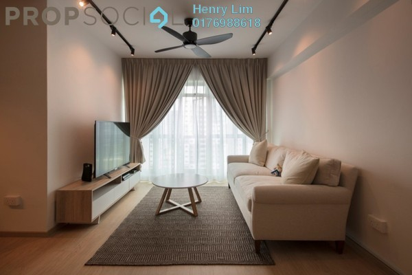 For Rent Serviced Residence at Tribeca, Bukit Bintang Freehold Fully Furnished 2R/2B 3.5k