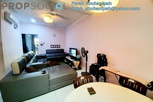 Terrace For Sale in Section 10, Shah Alam Freehold Unfurnished 3R/2B 535k