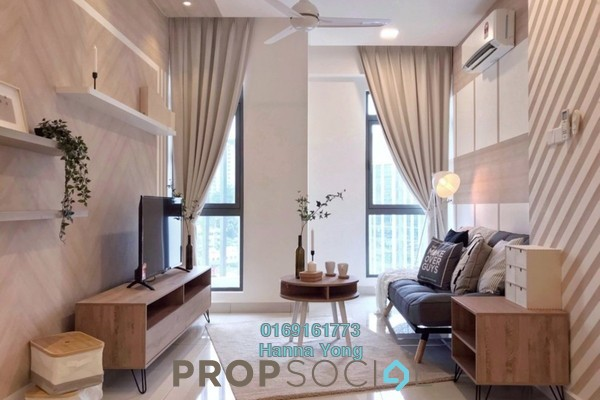 For Rent Condominium at Vivo Residential @ 9 Seputeh, Old Klang Road Freehold Fully Furnished 2R/2B 2.5k